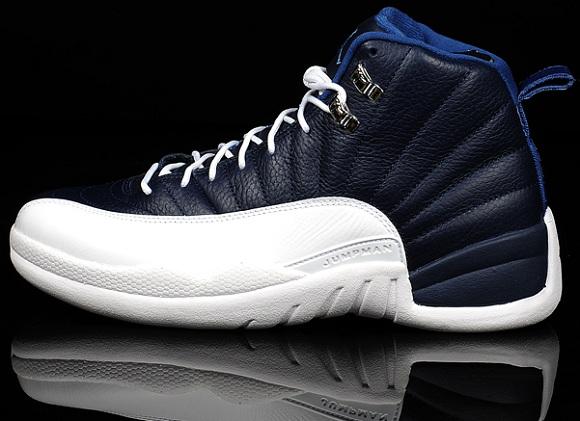 Air Jordan 12 Blue And White
